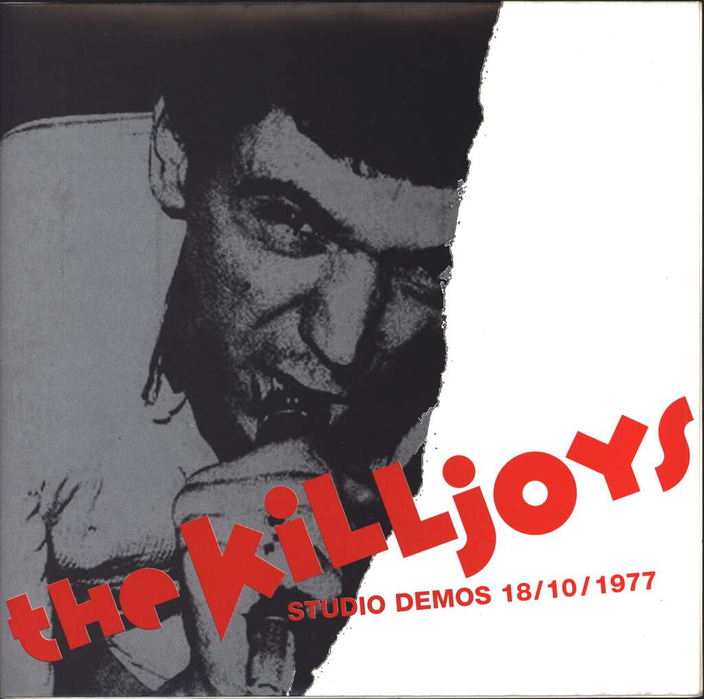 "The Killjoys: Studio Demos 18/10/1977, 7"" Single (Vinyl)"