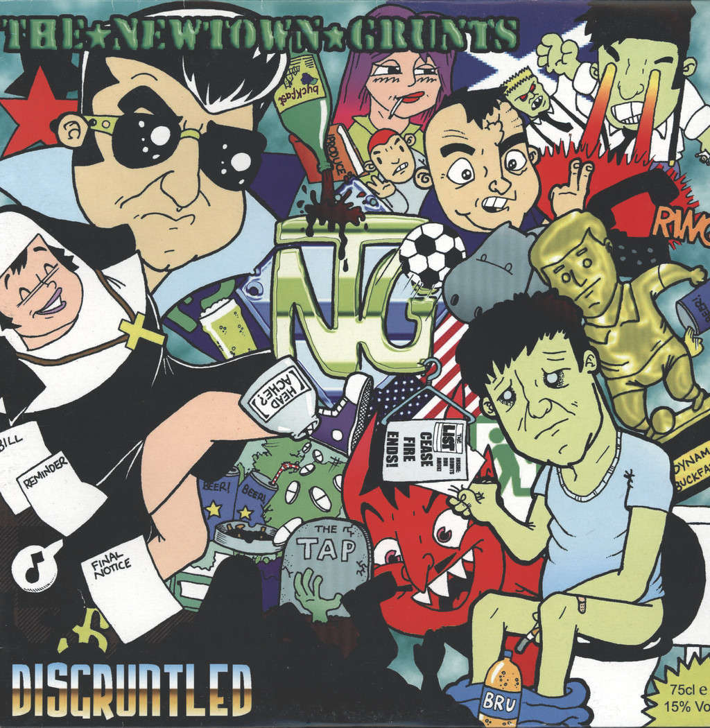 Newtown Grunts: Disgruntled, LP (Vinyl)