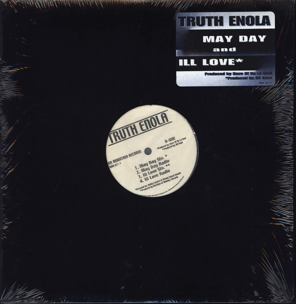 "Truth Enola: May Day / Ill Love, 12"" Maxi Single (Vinyl)"