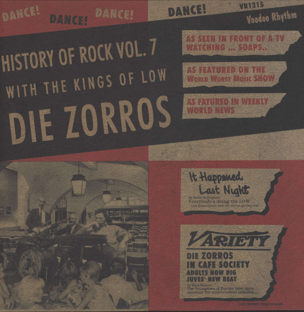Die Zorros: History Of Rock Vol. 7, LP (Vinyl)
