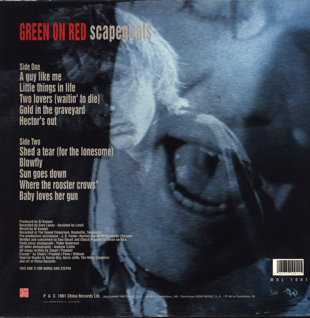 Green On Red: Scapegoats, LP (Vinyl)