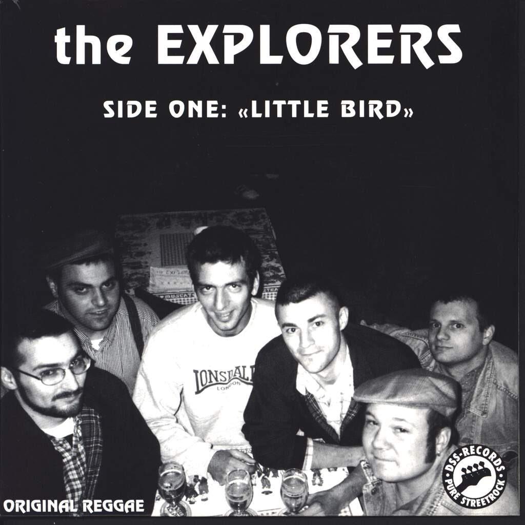 "The Explorers: Pussy Sweet Gal / Hey Little Bird, 7"" Single (Vinyl)"