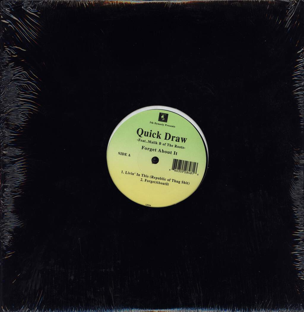 "Quick Draw: Forget About It, 12"" Maxi Single (Vinyl)"