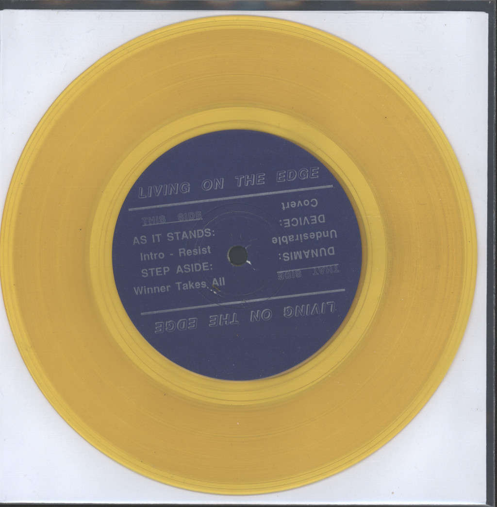 "Various: Living On The Edge, 7"" Single (Vinyl)"