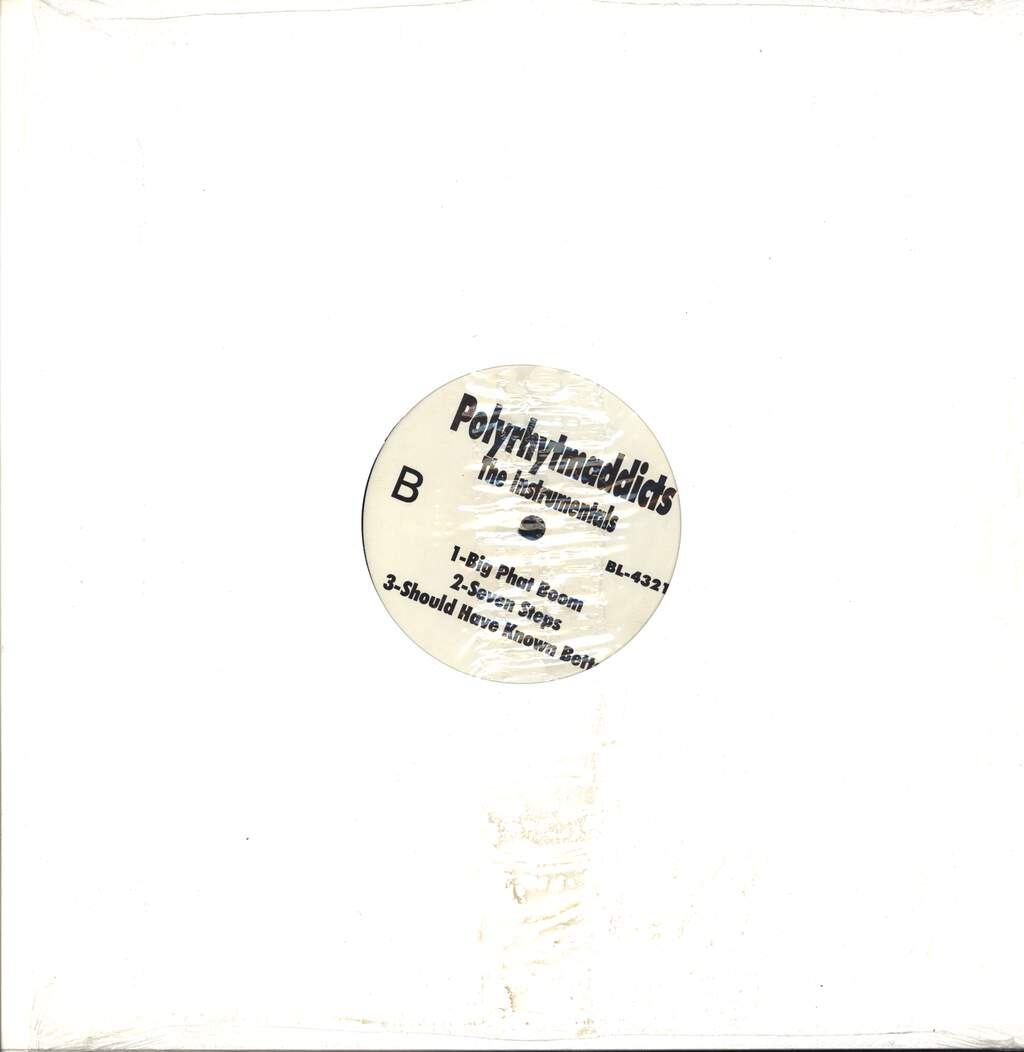 Polyrhythm Addicts: The Instrumentals, Mini LP (Vinyl)