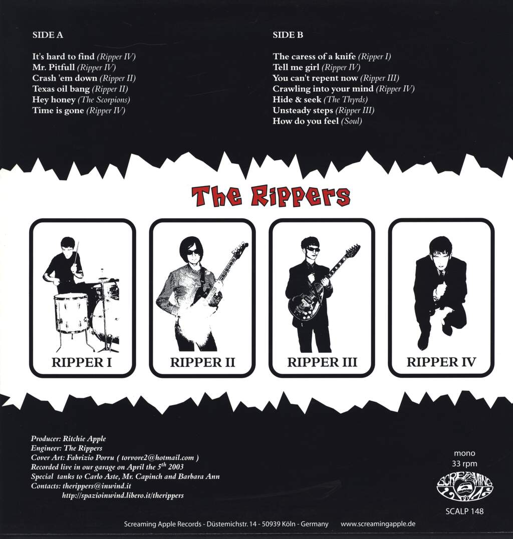 The Rippers: The Rippers, LP (Vinyl)