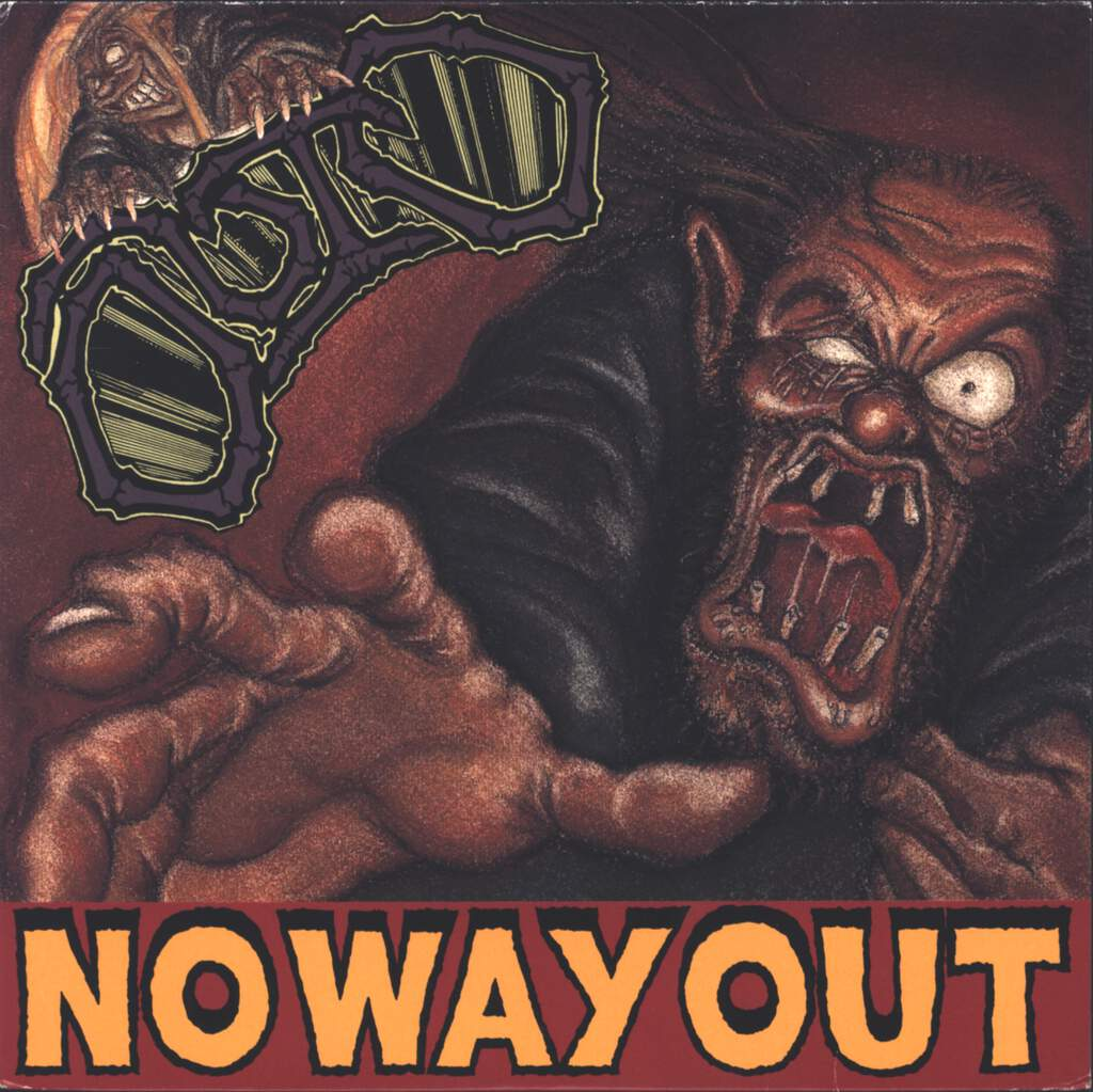 "Outo: No Way Out, 7"" Single (Vinyl)"