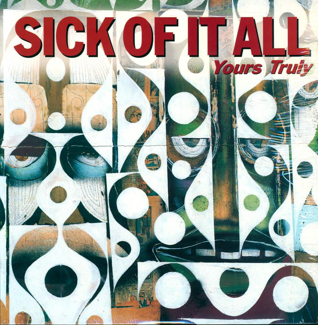 Sick Of It All: Yours Truly, LP (Vinyl)