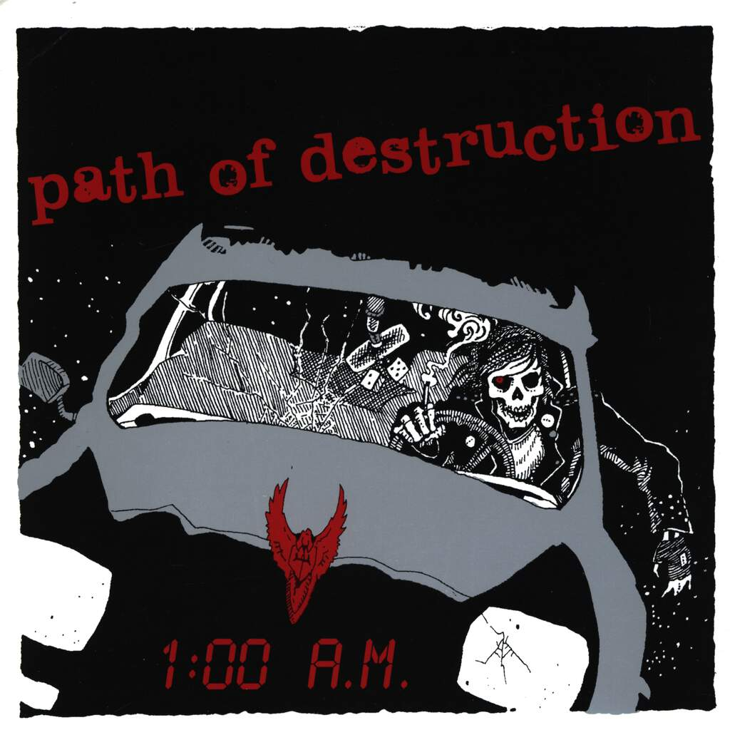 "Path Of Destruction: 1:00 A.M., 7"" Single (Vinyl)"