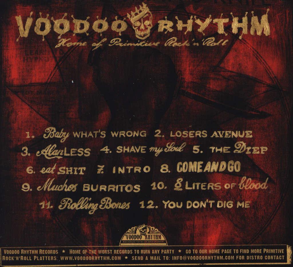 Come N'go: Rhythm N'Blood, CD