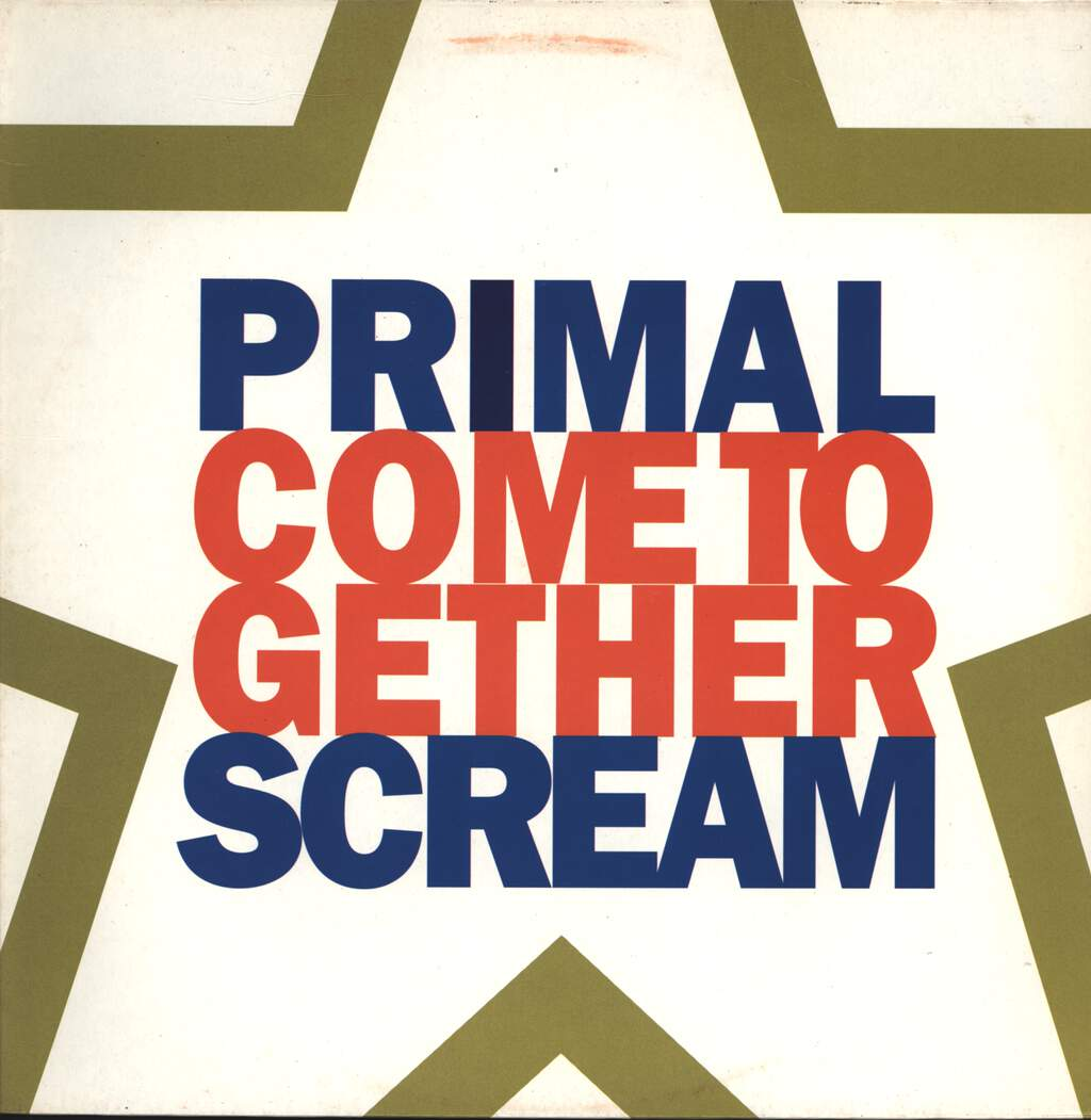 "Primal Scream: Come Together, 12"" Maxi Single (Vinyl)"
