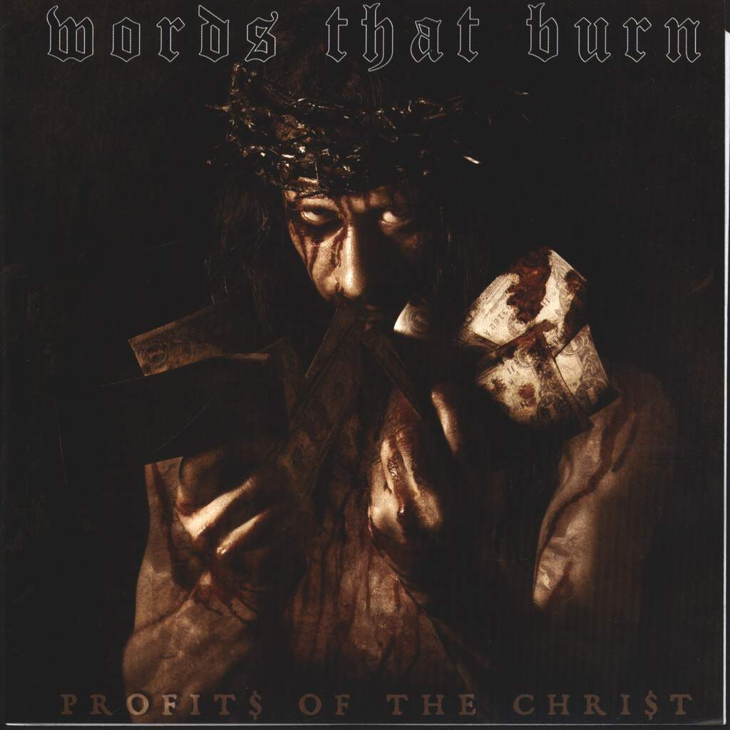 "Words That Burn: Profits Of The Christ, 7"" Single (Vinyl)"