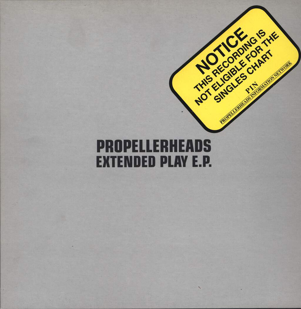 "Propellerheads: Extended Play E.P., 12"" Maxi Single (Vinyl)"