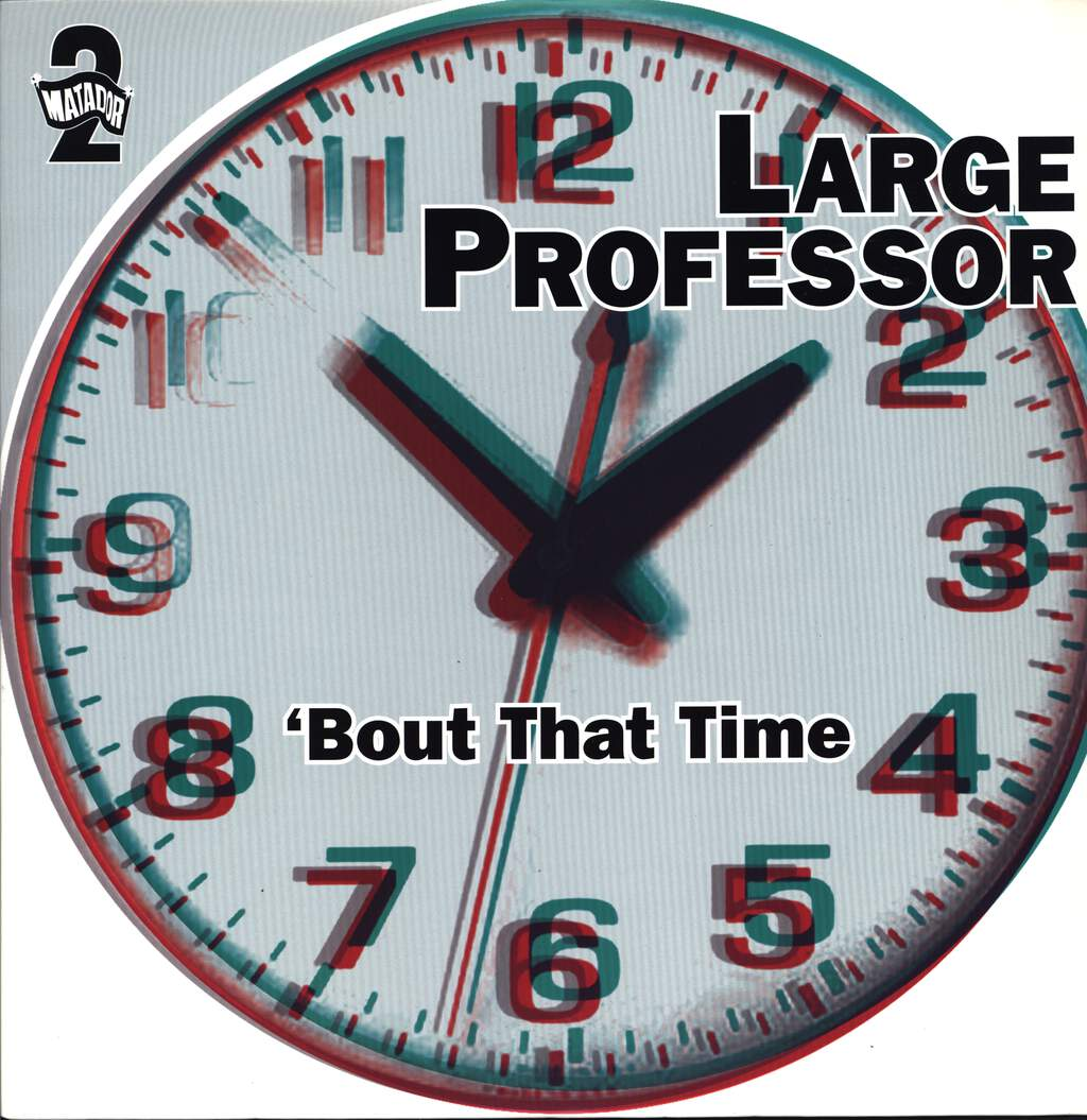 "Large Professor: 'Bout That Time, 12"" Maxi Single (Vinyl)"