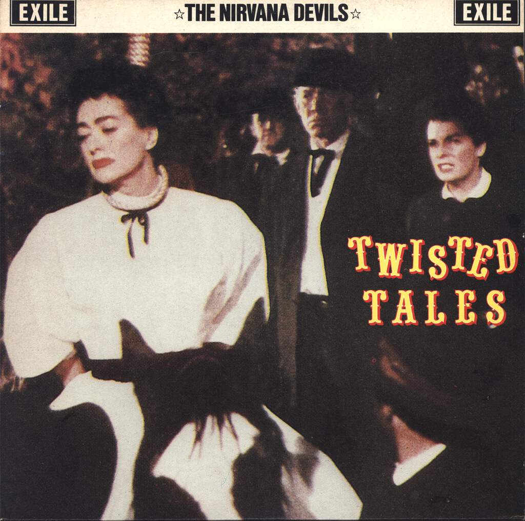 "The Nirvana Devils: Twisted Tales, 10"" Vinyl EP"