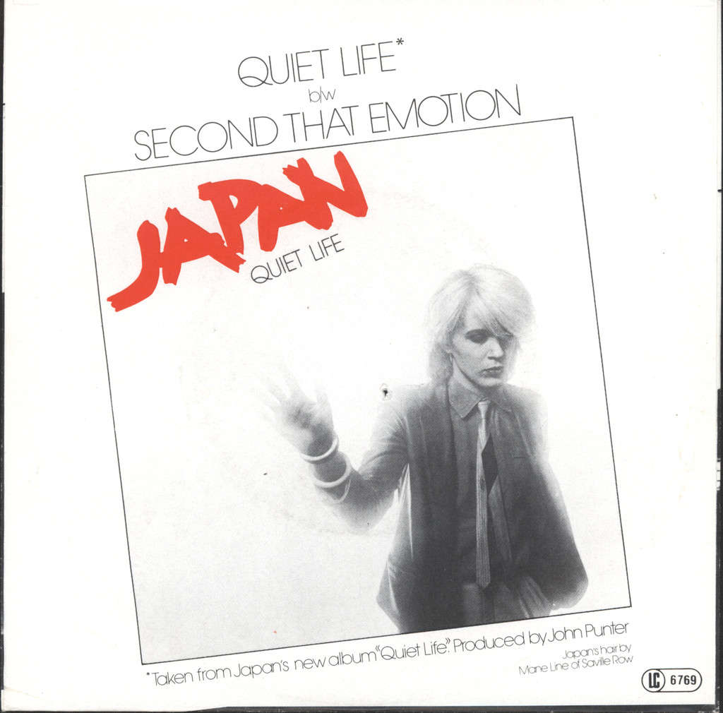 "Japan: Quiet Life / I Second That Emotion, 7"" Single (Vinyl)"