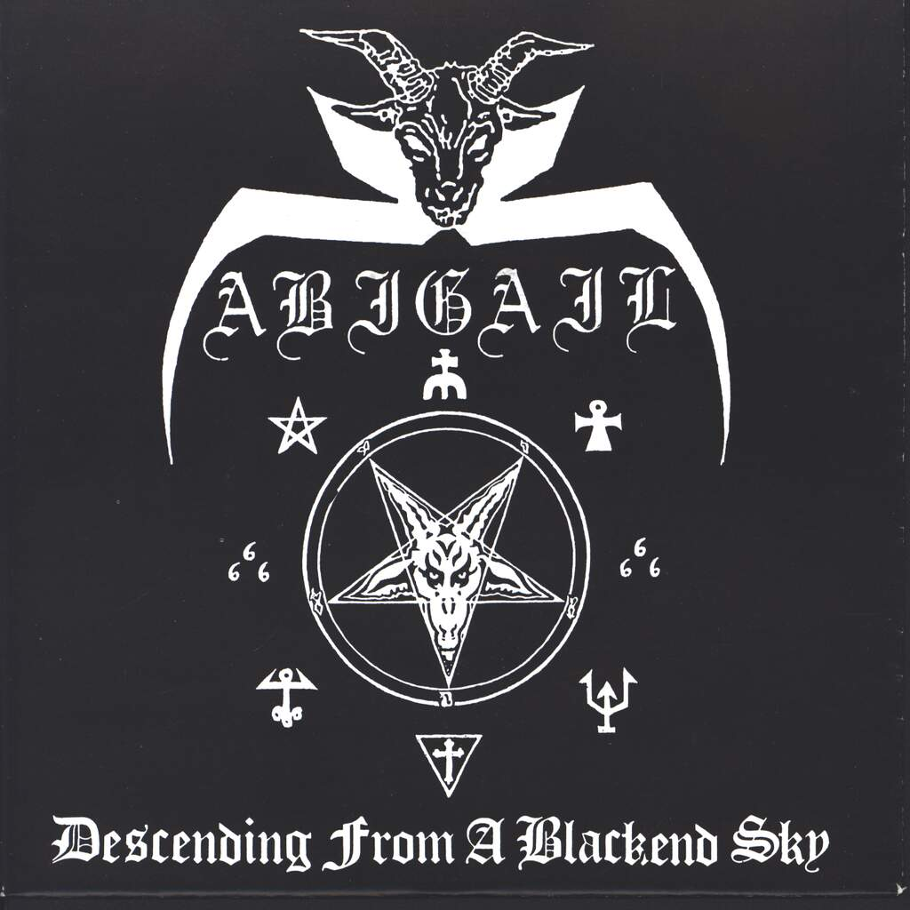 "Abigail: Descending From A Blackend Sky, 7"" Single (Vinyl)"