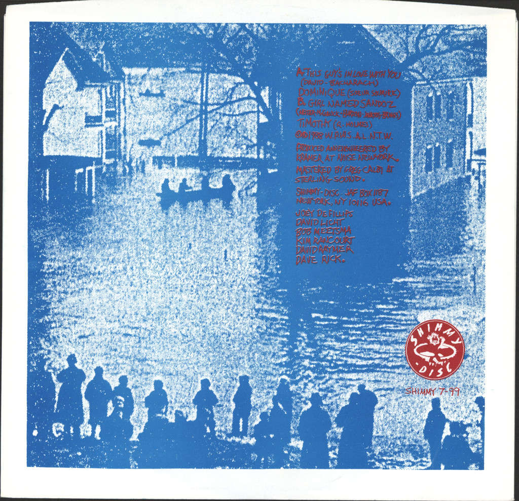 "When People Were Shorter And Lived Near The Water: This Guy's In Love With You / Girl Named Sandoz, 7"" Single (Vinyl)"
