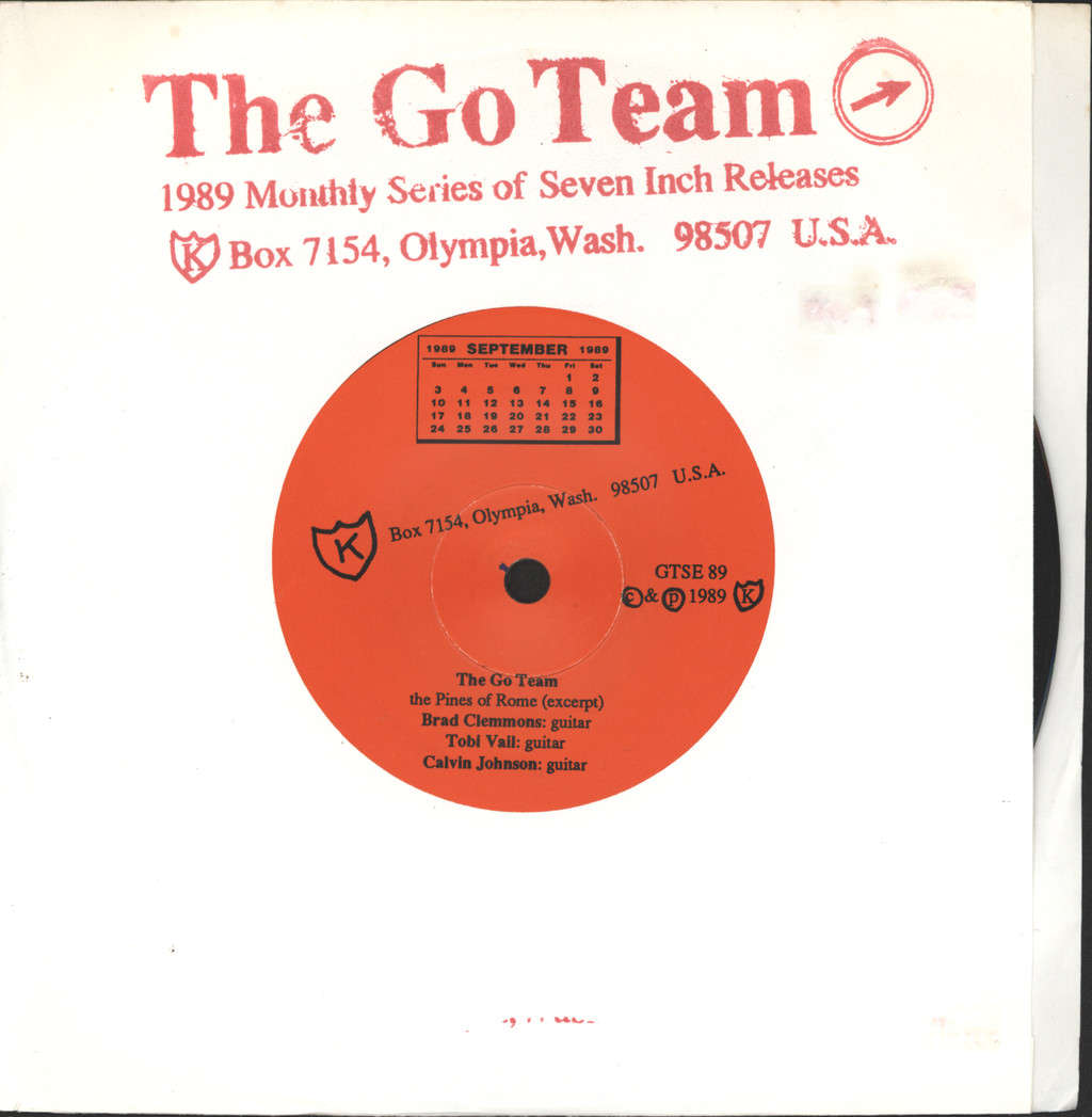"Go! Team: The Pines Of Rome (Excerpt), 7"" Single (Vinyl)"