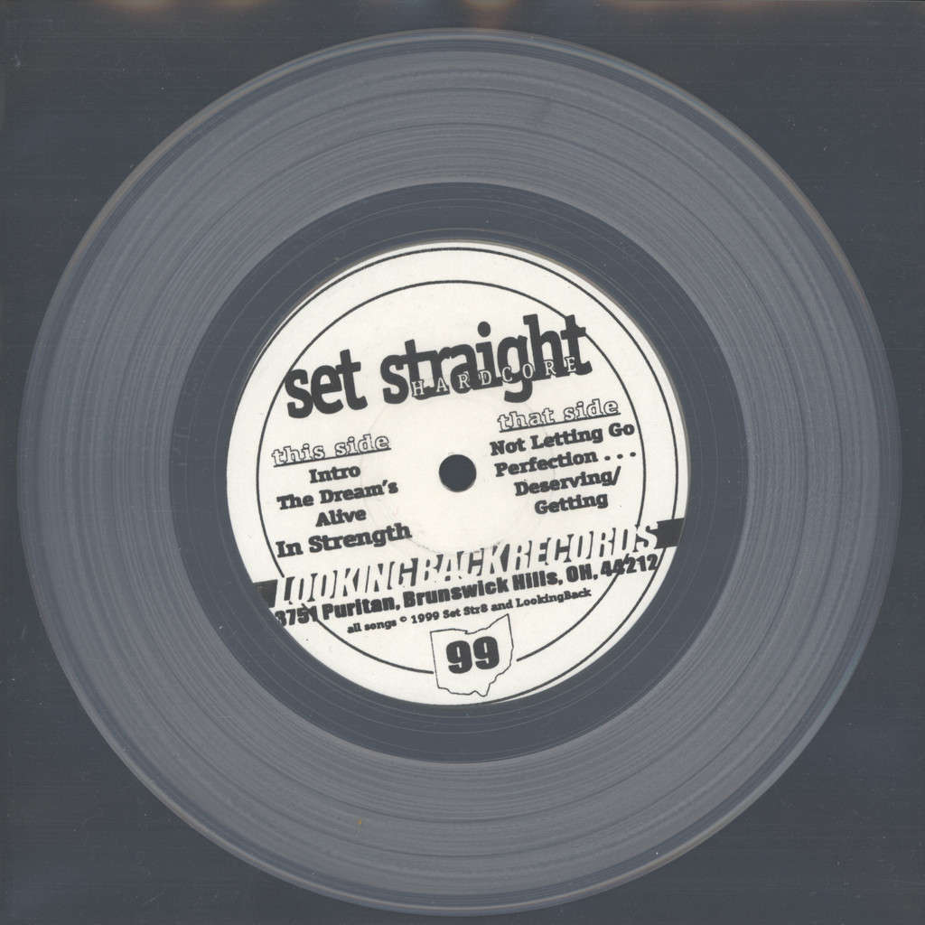 "Set Straight: The Dream's Alive, 7"" Single (Vinyl)"