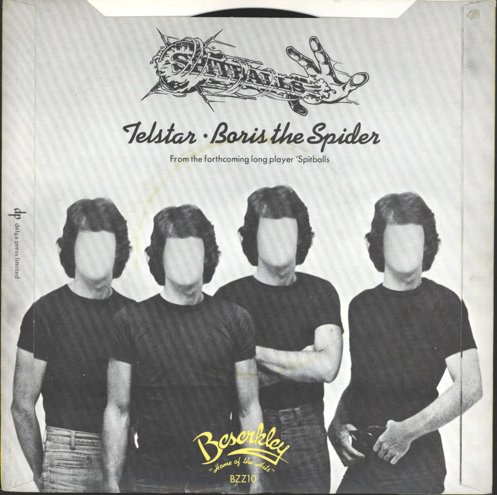 "Spitballs: Telstar / Boris The Spider, 7"" Single (Vinyl)"