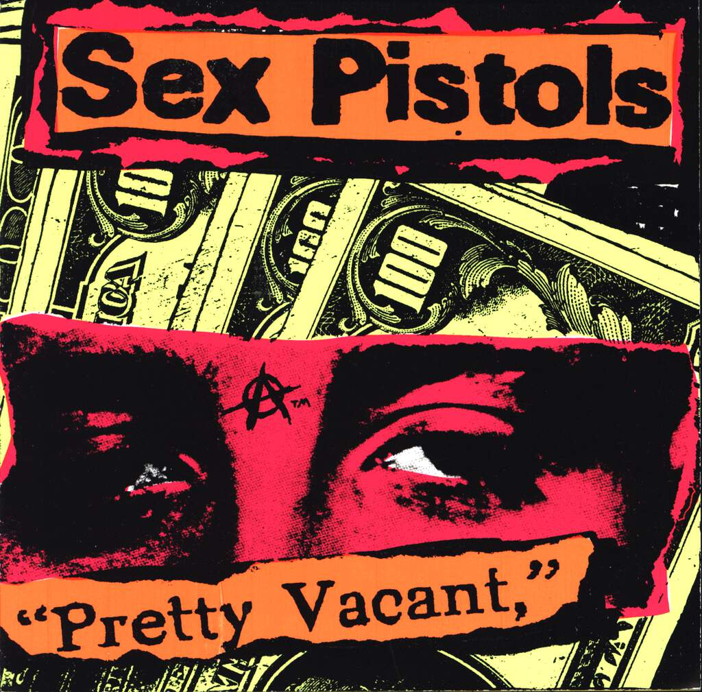 "Sex Pistols: Pretty Vacant / Disorder / You Bug Me, 7"" Single (Vinyl)"
