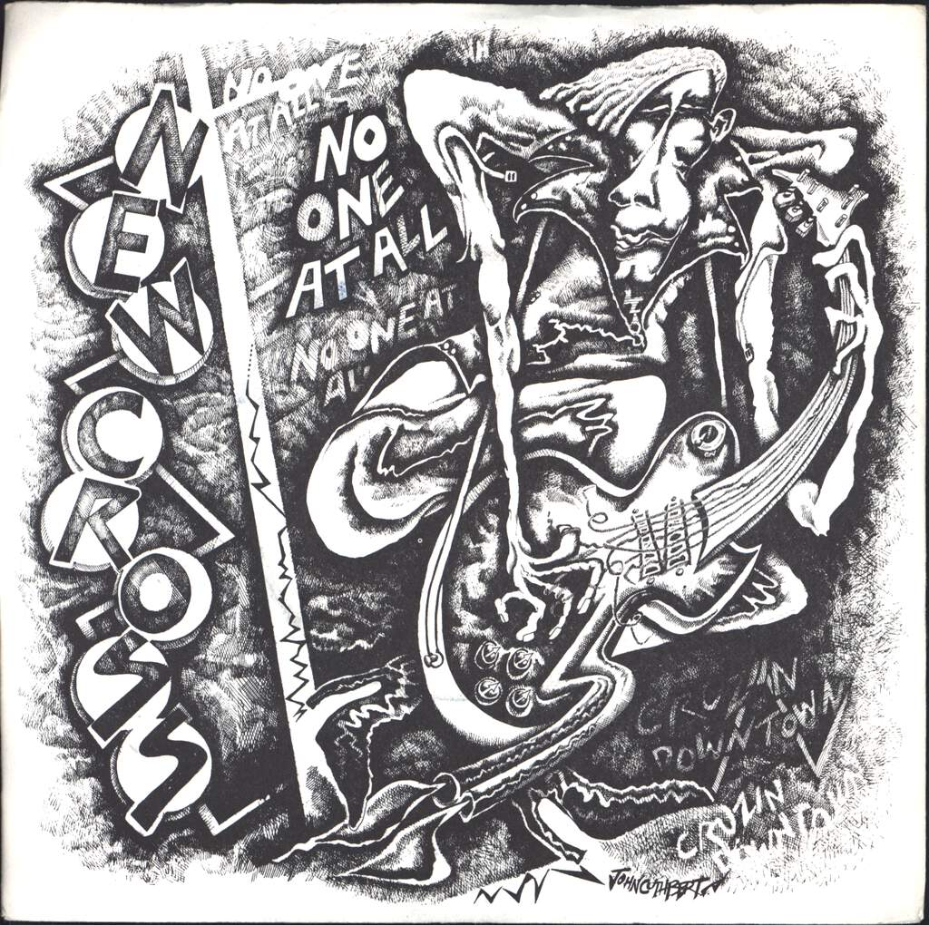 "New Cross: No One At All, 7"" Single (Vinyl)"