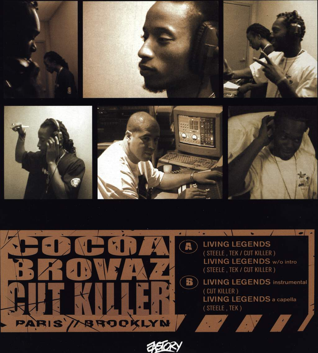"Cocoa Brovaz: Living Legends, 12"" Maxi Single (Vinyl)"