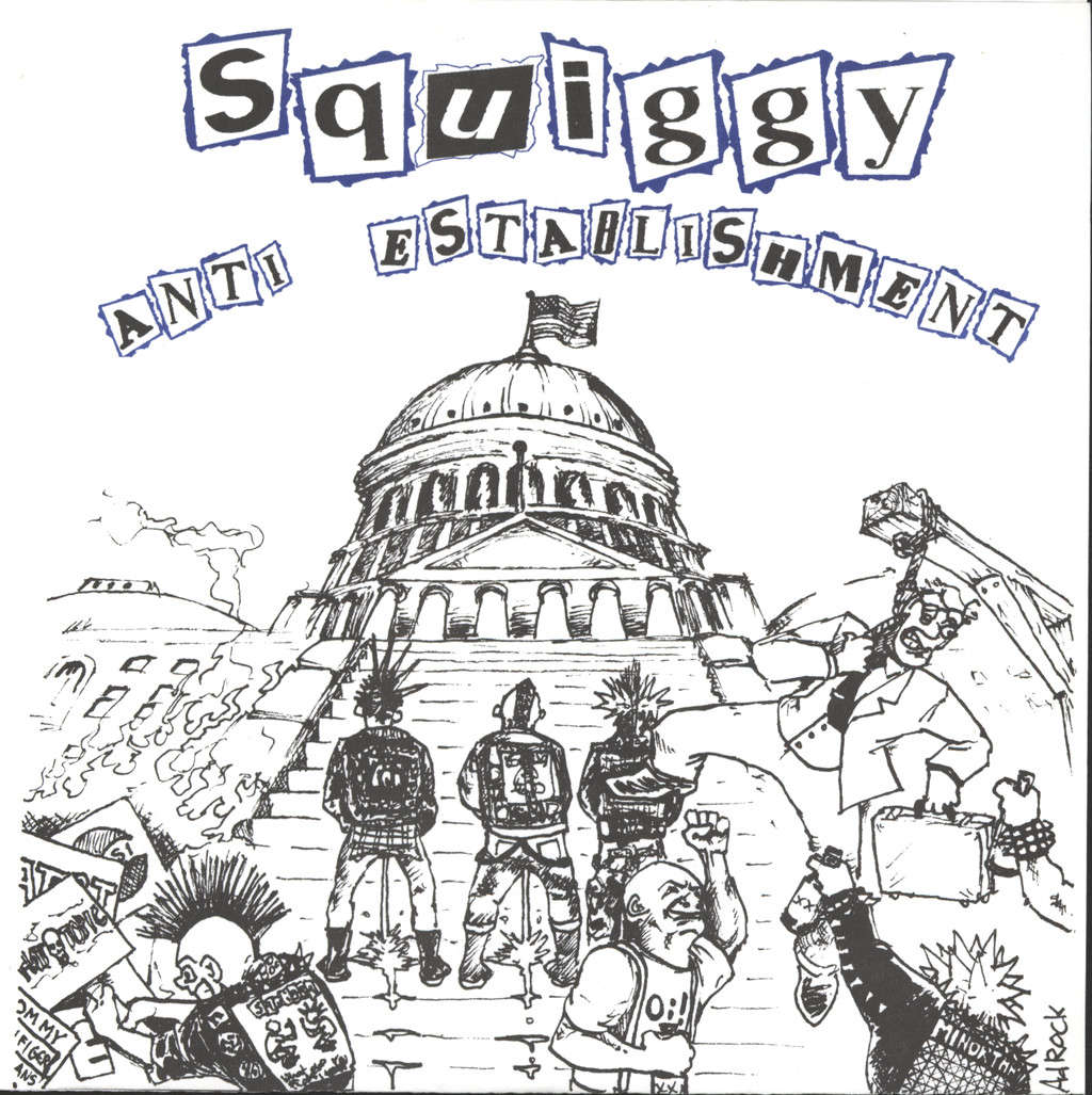 "Squiggy: Anti Establishment, 7"" Single (Vinyl)"