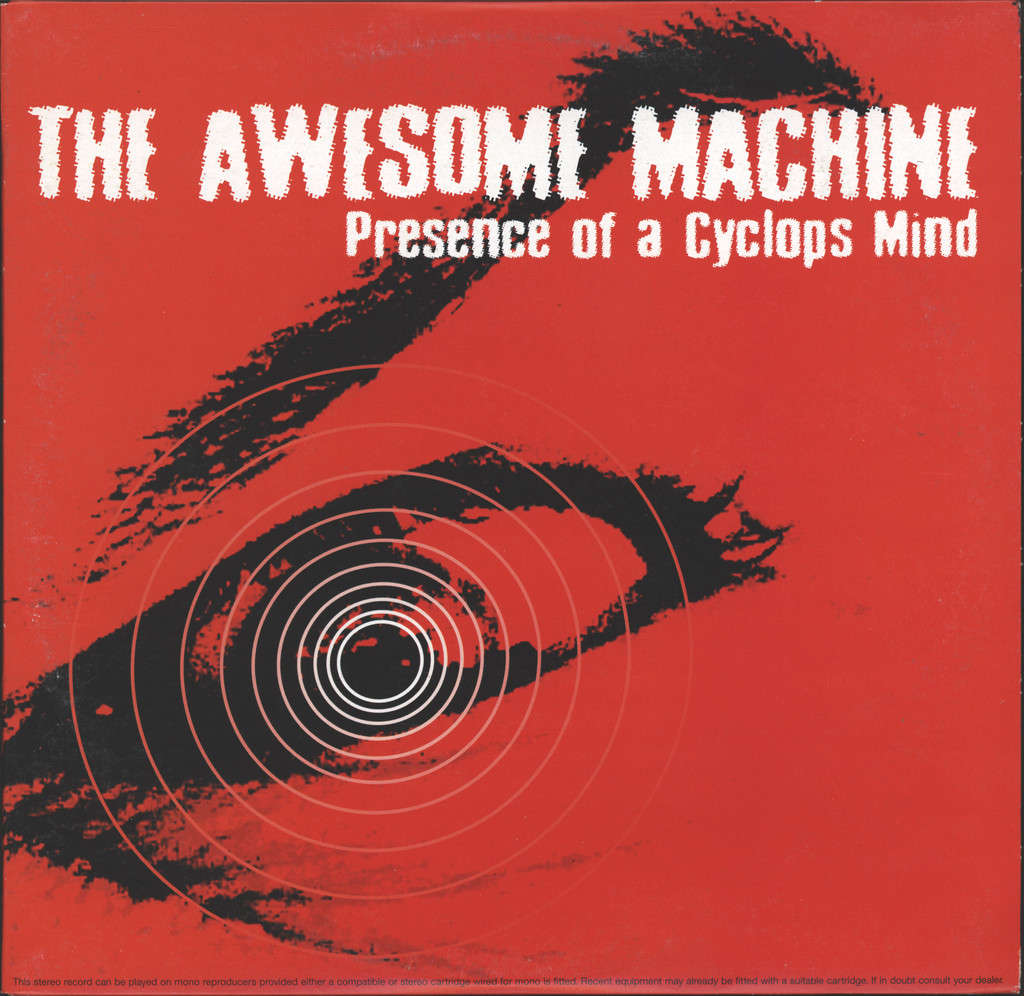 "Awesome Machine: Presence Of A Cyclops Mind / My Sisters' Demon, 10"" Vinyl EP"