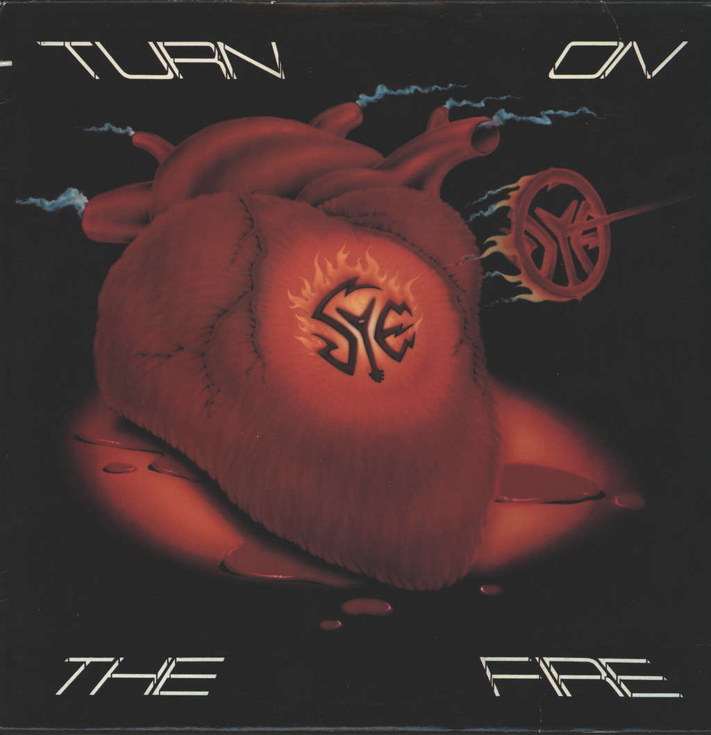Sye: Turn On The Fire, LP (Vinyl)