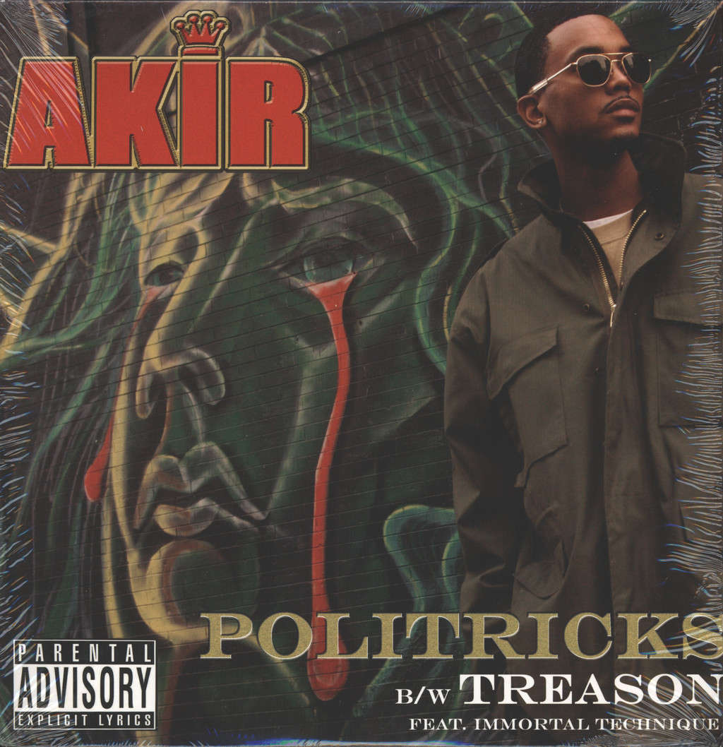 "Akir: Politricks / Treason / Mood Music, 12"" Maxi Single (Vinyl)"