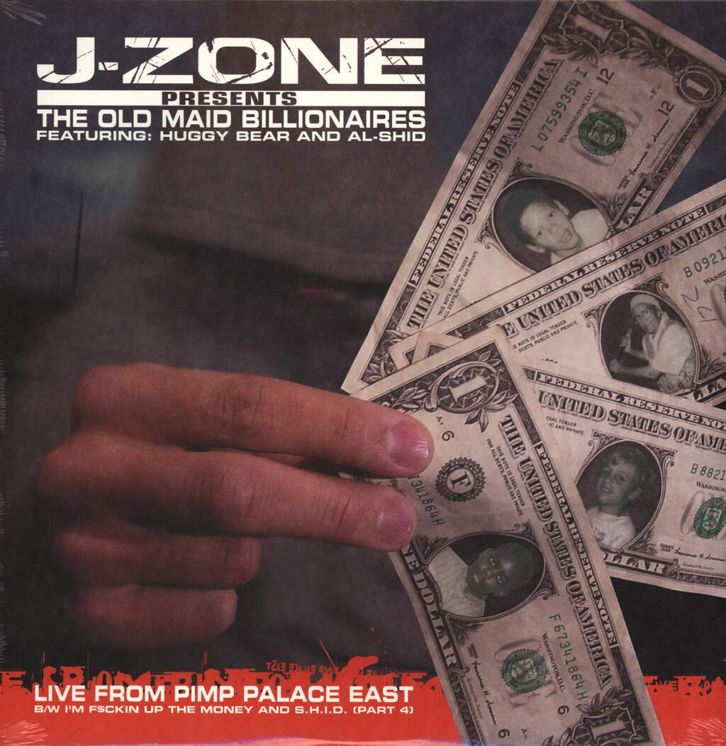 J-Zone: Live From Pimp Palace East, LP (Vinyl)