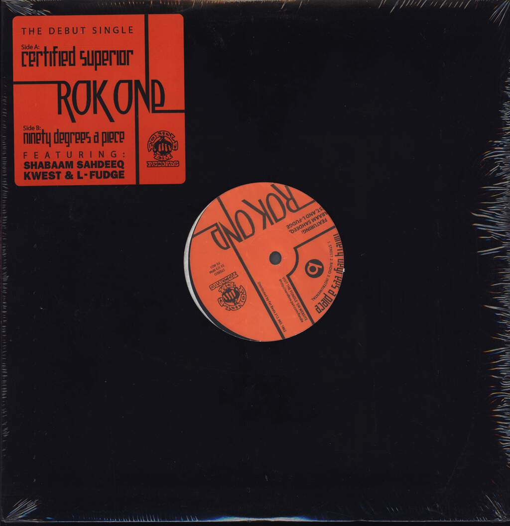 "Rok One: Certified Superior, 12"" Maxi Single (Vinyl)"