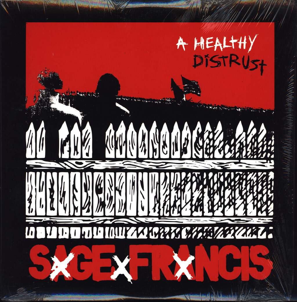 Sage Francis: A Healthy Distrust, LP (Vinyl)