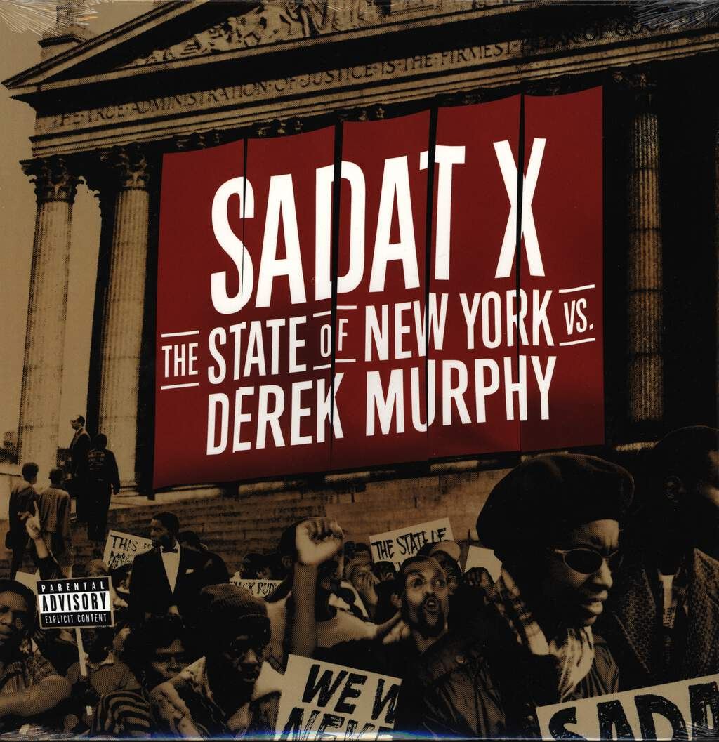 "Sadat X: The State Of New York Vs. Derek Murphy, 12"" Maxi Single (Vinyl)"