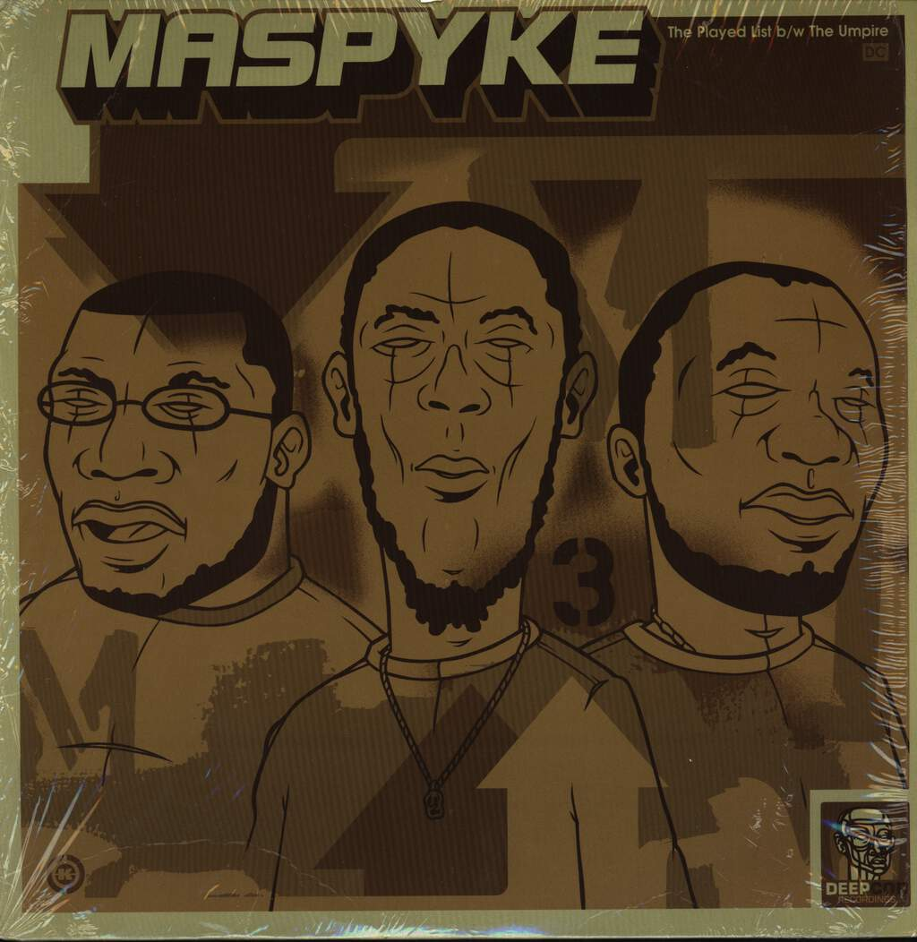 "Maspyke: The Played List / The Umpire, 12"" Maxi Single (Vinyl)"