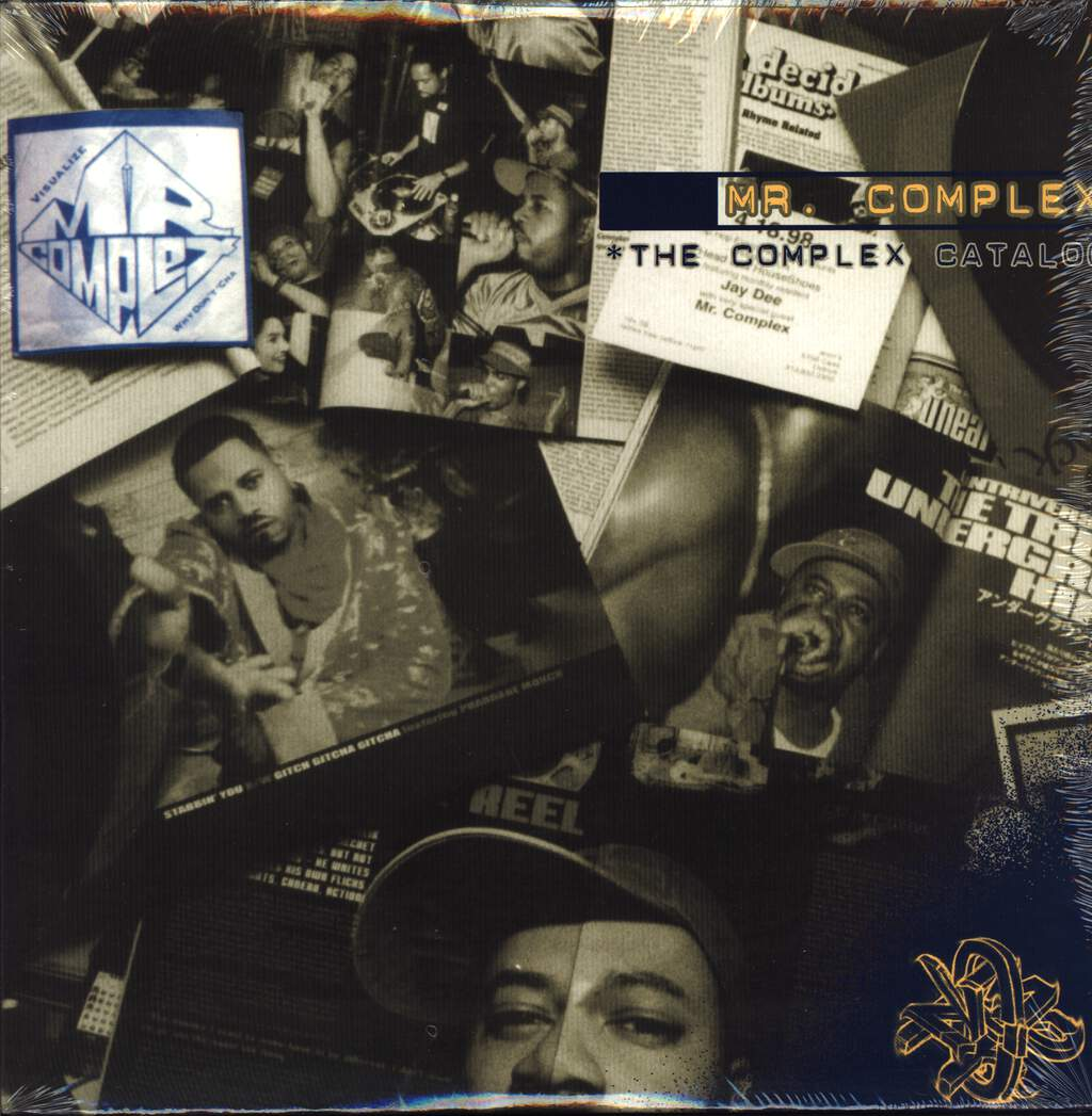 Mr Complex: The Complex Catalog, LP (Vinyl)