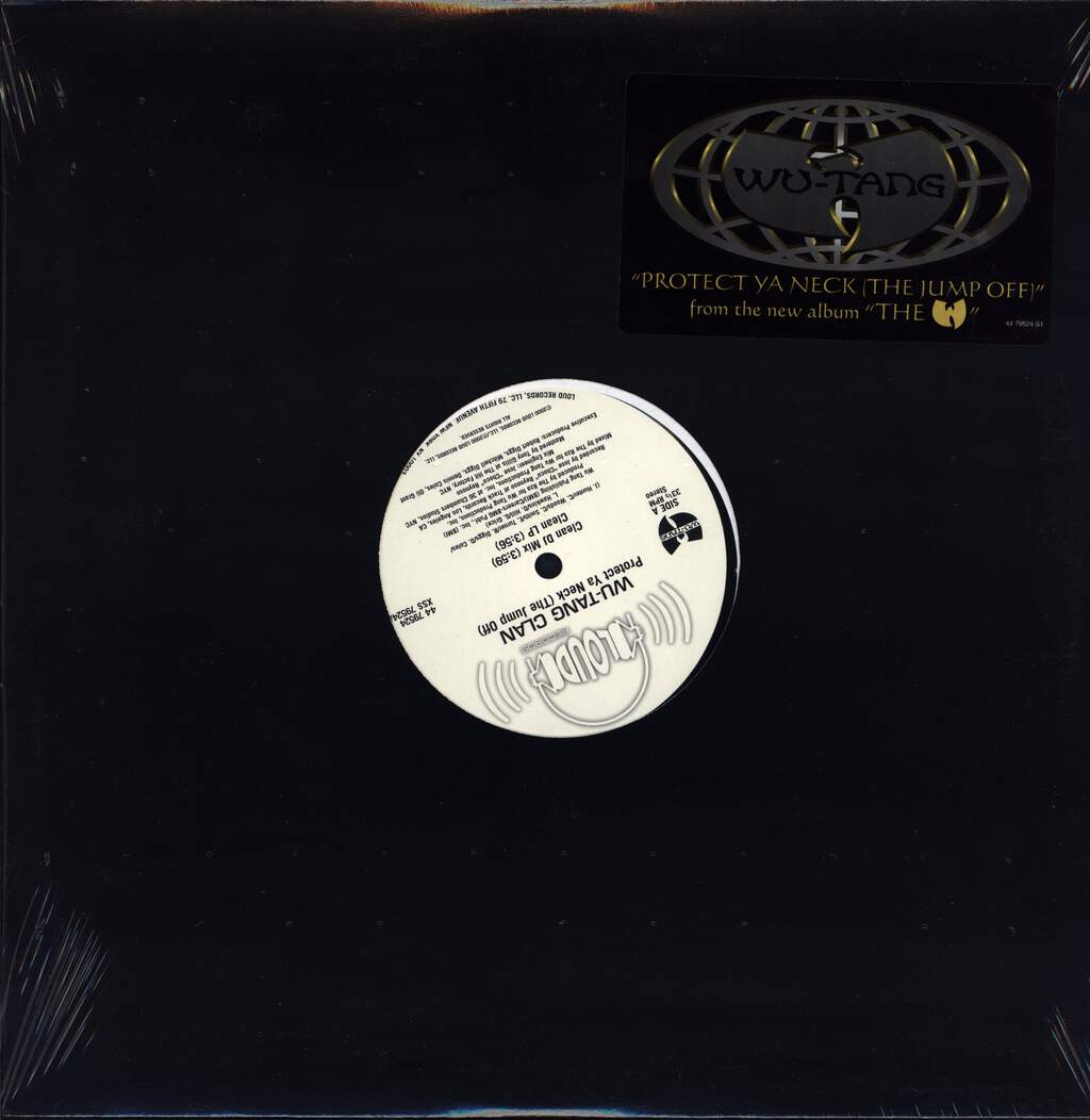 "Wu-Tang Clan: Protect Ya Neck (The Jump Off), 12"" Maxi Single (Vinyl)"