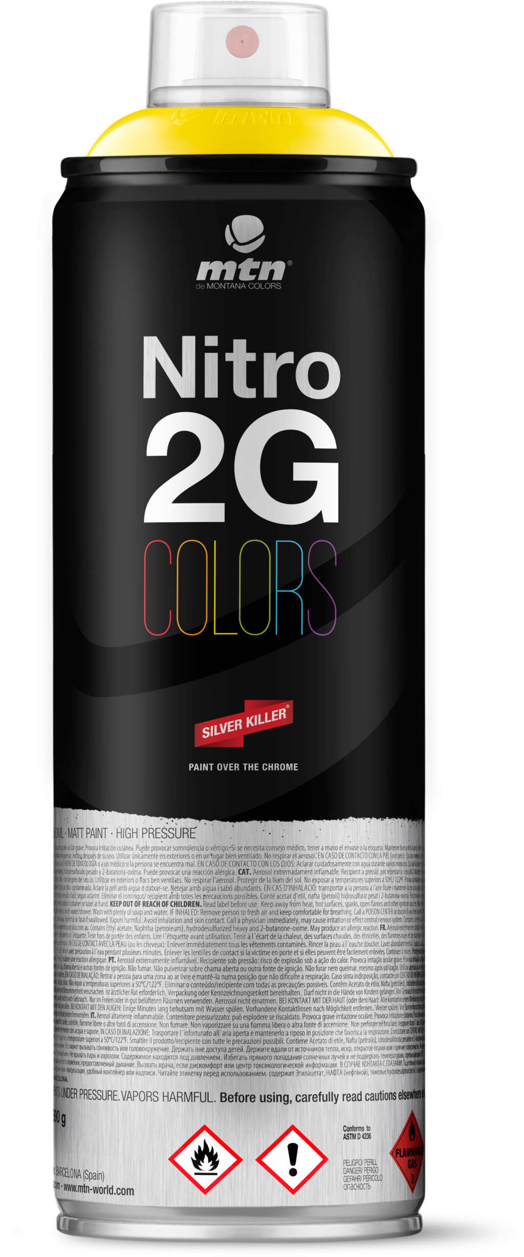 mtn: MTN Nitro 2G 500ml, Spray Can
