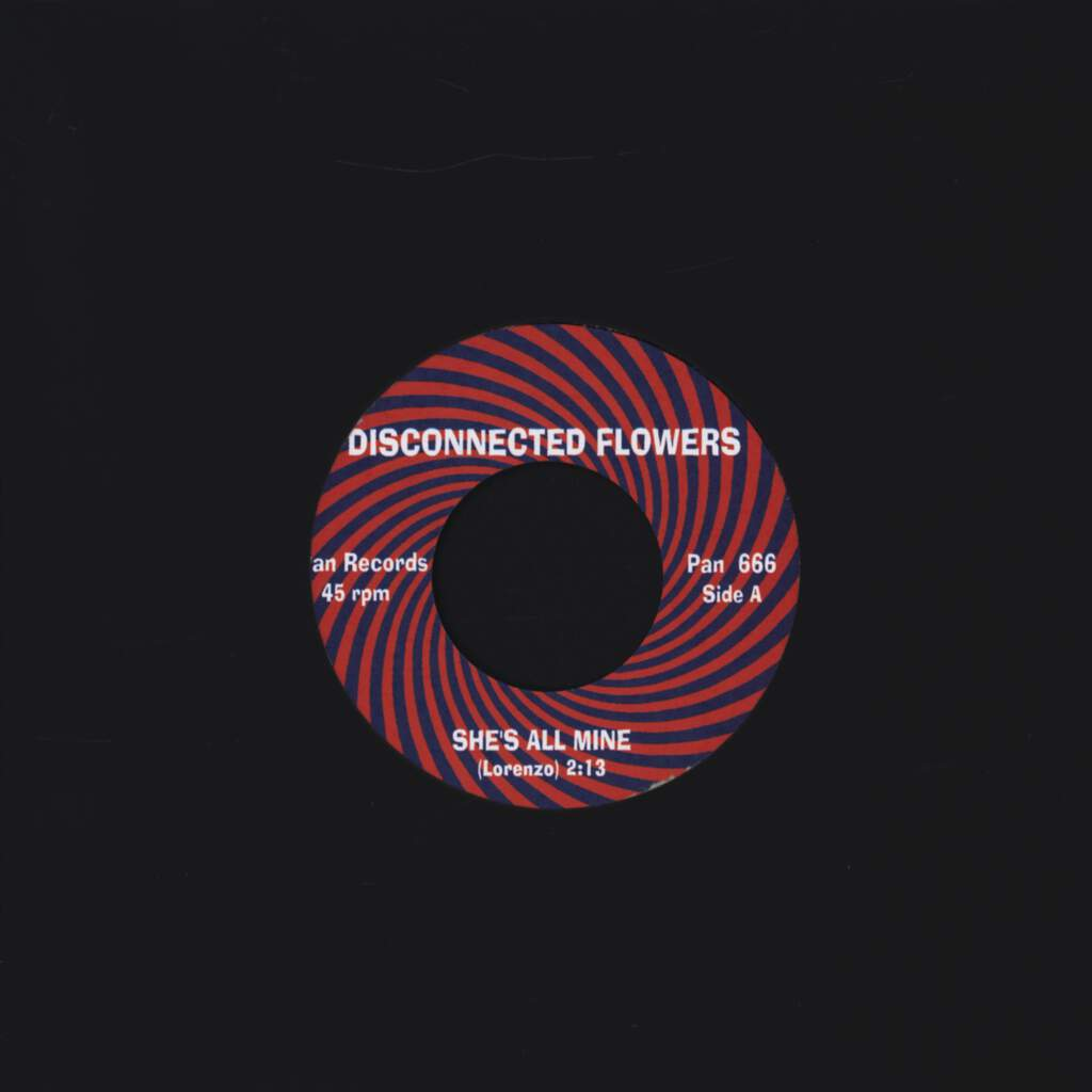 "Disconnected Flowers: She's All Mine / Run Little Girl, 7"" Single (Vinyl)"