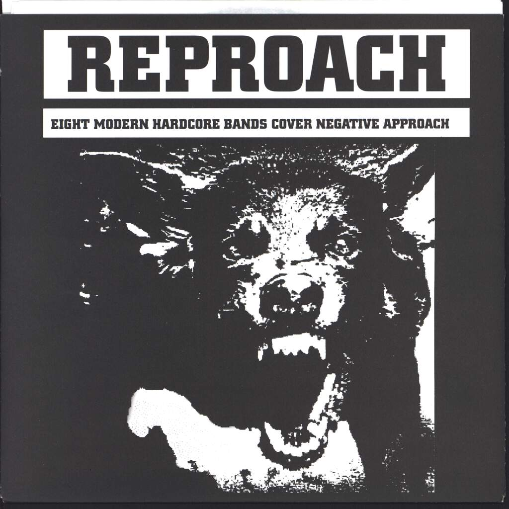 "Various: Reproach (8 Modern Hardcore Bands Cover Negative Approach), 7"" Single (Vinyl)"