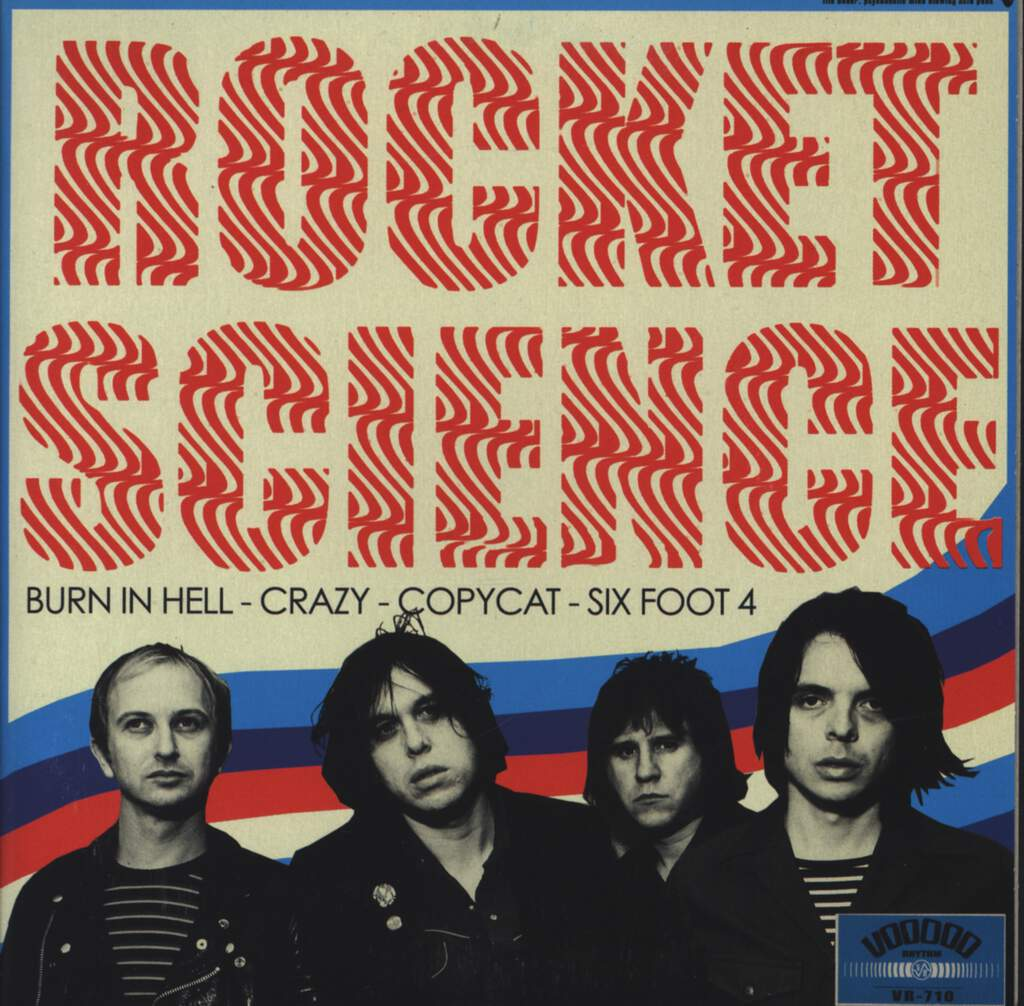 "Rocket Science: Burn In Hell, 7"" Single (Vinyl)"
