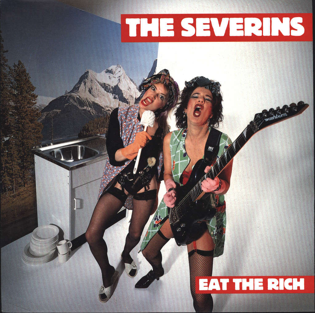 "Severins: Eat The Rich, 7"" Single (Vinyl)"