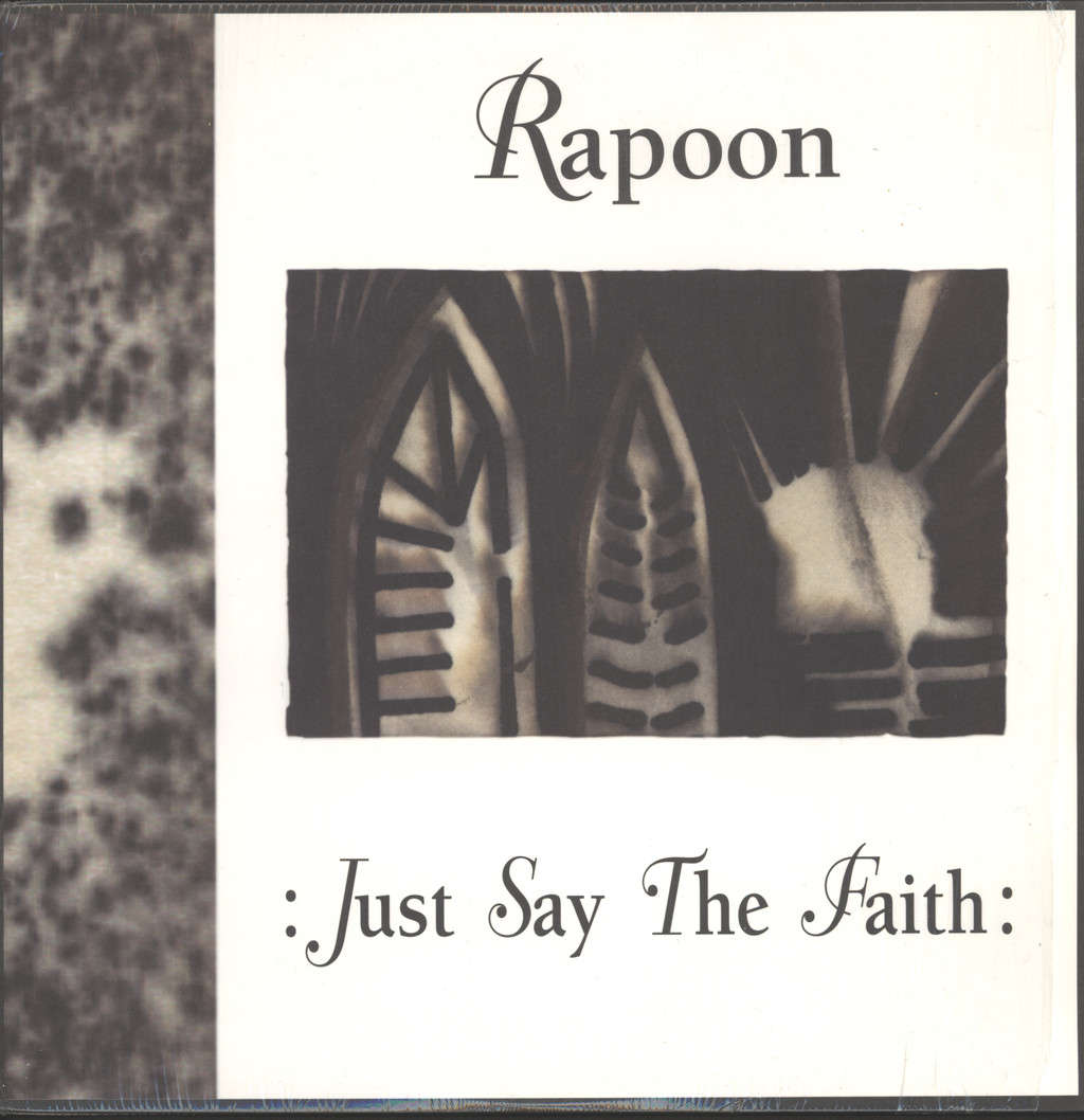 Rapoon: :Just Say The Faith:, LP (Vinyl)