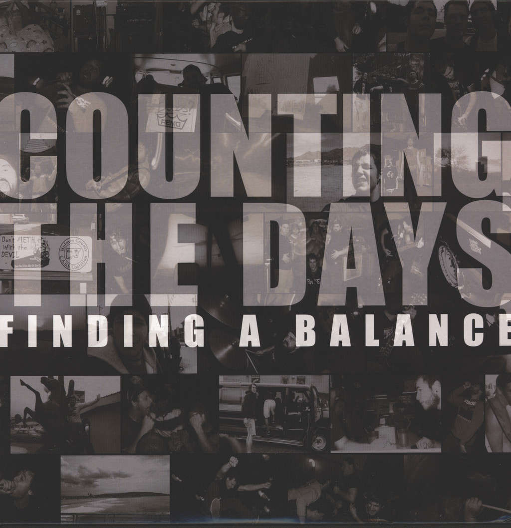 Counting the Days: Finding A Balance, LP (Vinyl)