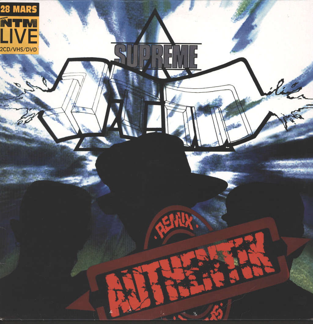 "Supreme Ntm: Authentik (Remix), 12"" Maxi Single (Vinyl)"