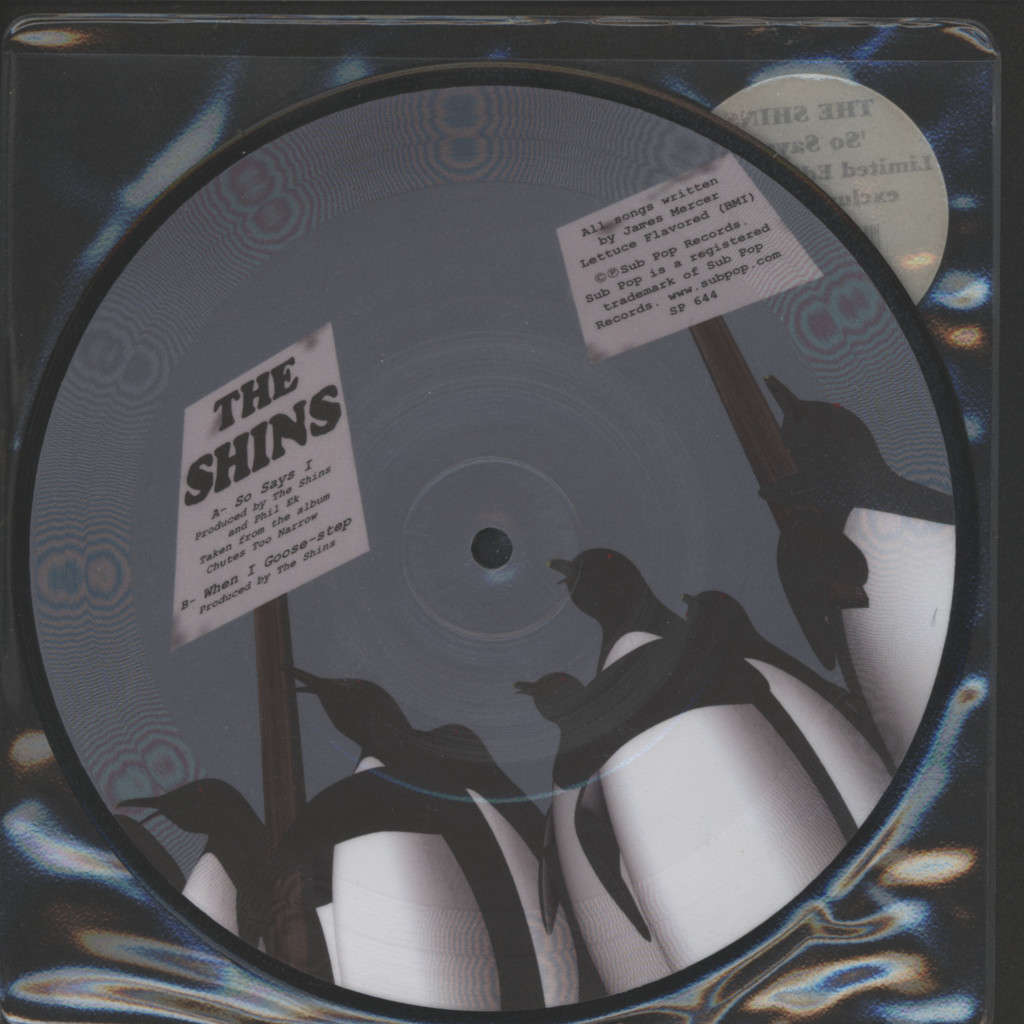 "Shins: So Says I, 7"" Single (Vinyl)"