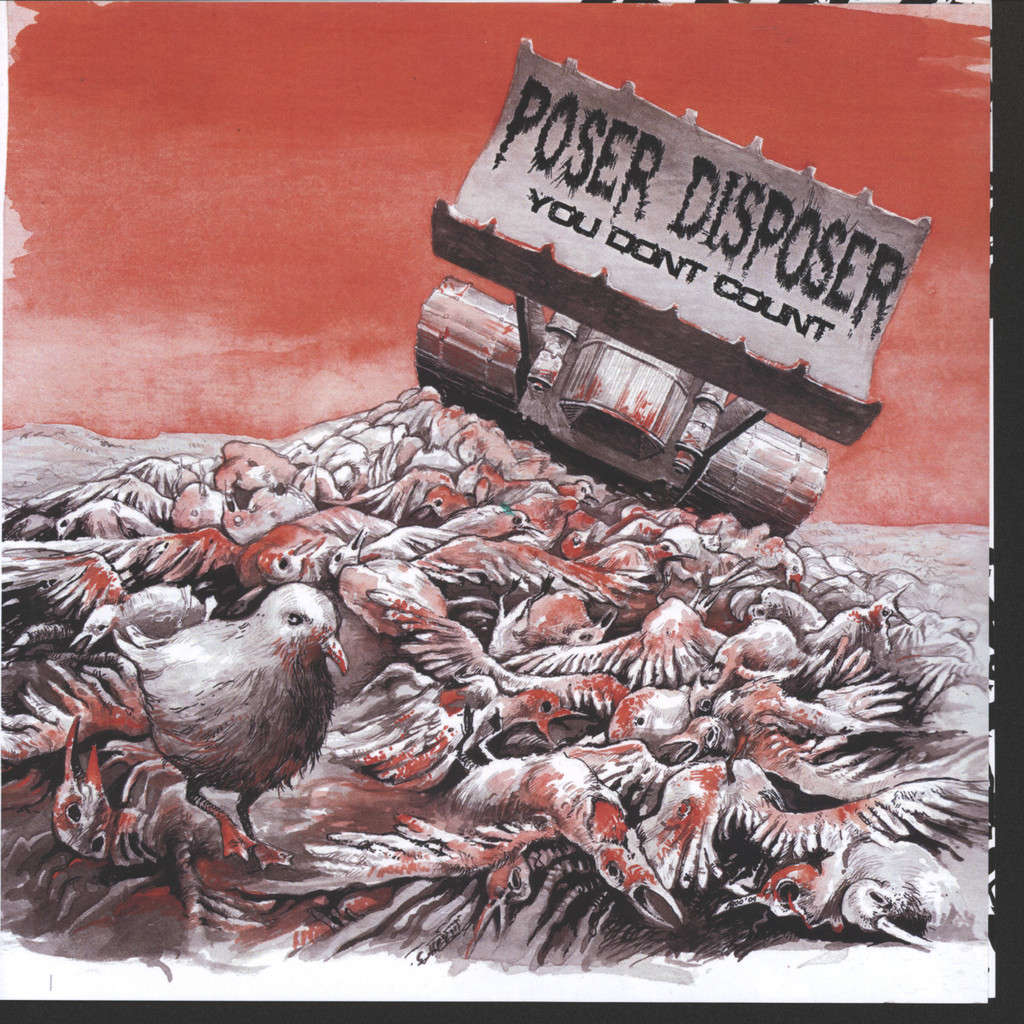 "Poser Disposer: You Don't Count, 7"" Single (Vinyl)"