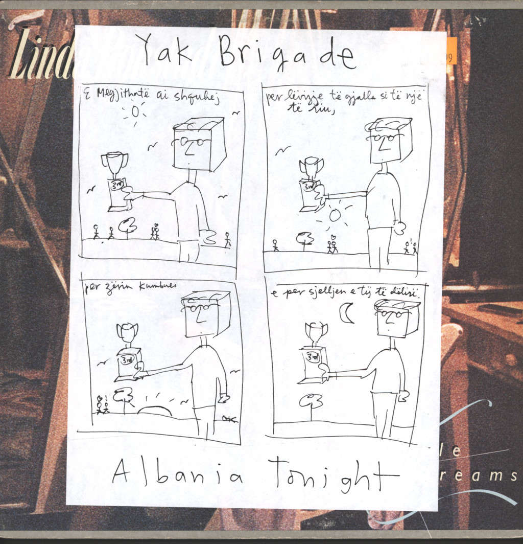 "Yak Brigade: Albania Tonight, 12"" Maxi Single (Vinyl)"